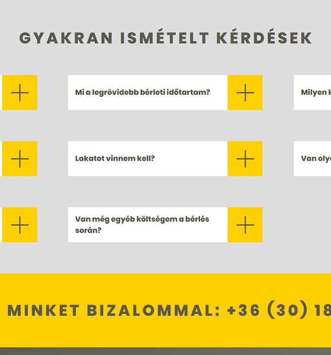 Raktar-vac.hu - raktár bérlés Vácon - reszponzív honlapkészítés