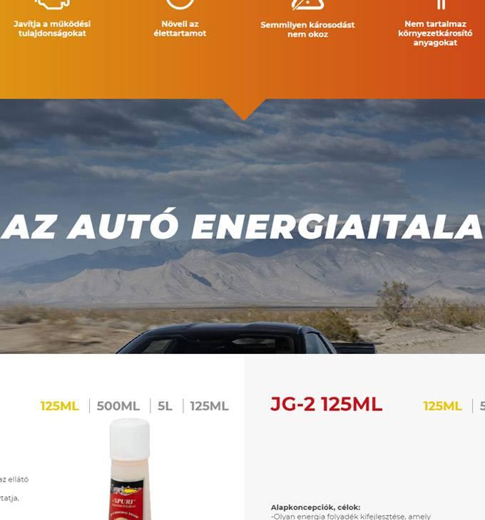 Spuriadalek.hu - Spuri Adalék - reszponzív webáruház készítés