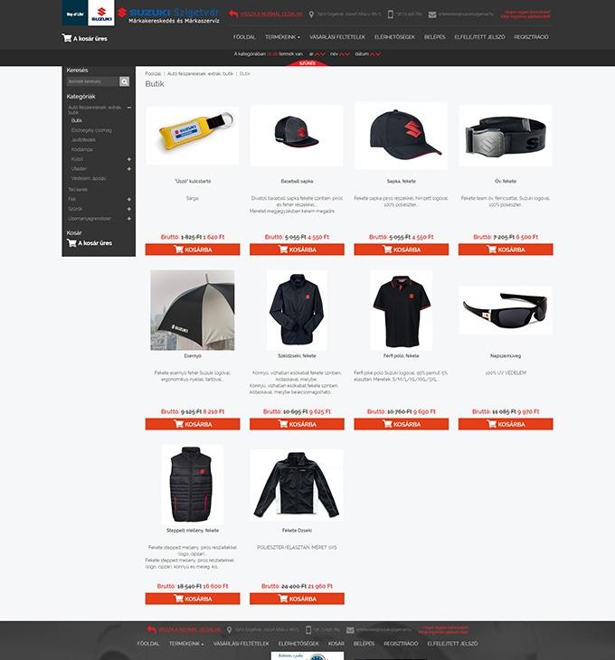 fa915f7cf7 Webshop.suzukiszigetvar.hu webáruház készítés | netfort.hu