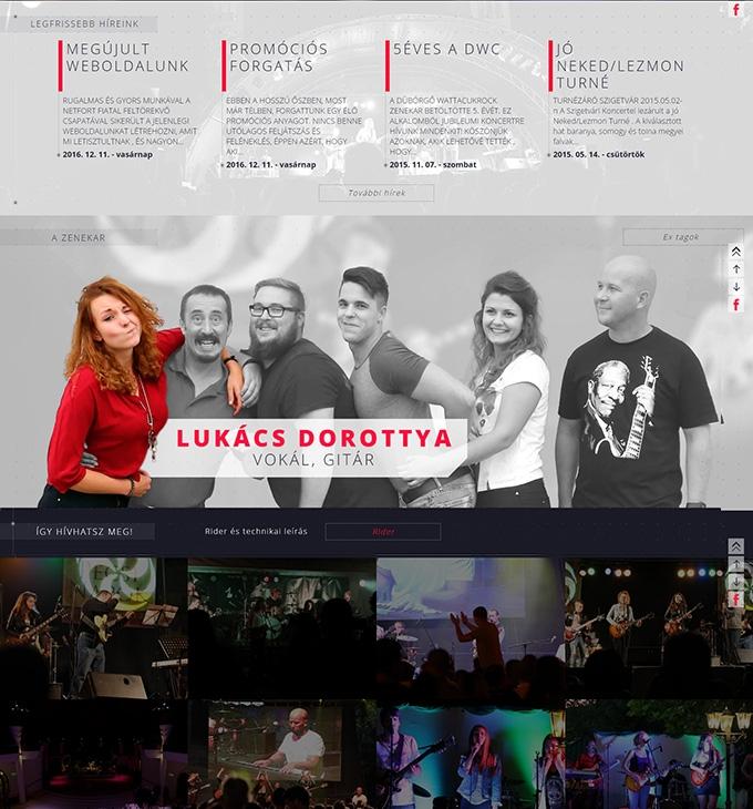 Duborgok.hu reszponzív weboldal megújítás