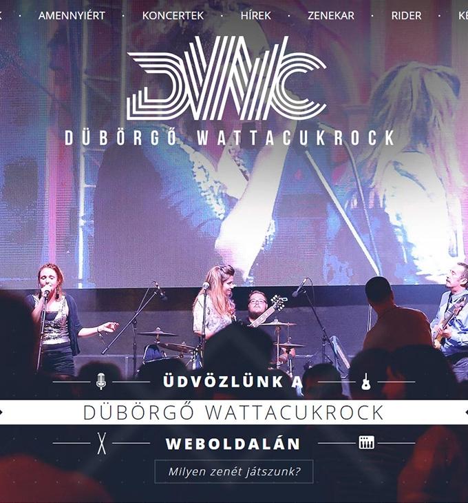 Duborgok.hu bemutatkozó weboldal megújítása