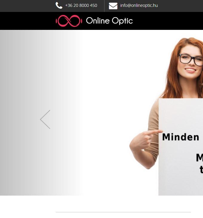 Onlineoptic.hu logó készítés