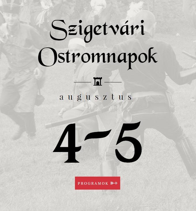 Szigetvári Ostromnapok rendezvénynek készítettünk mobilbarát honlapot