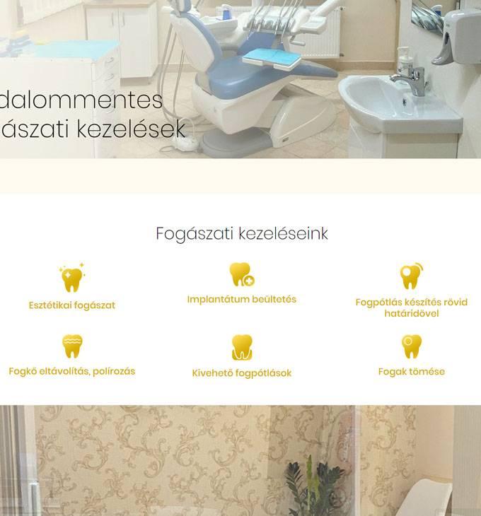 Szivident.hu - Dr. Bányász Szilva fogorvos - reszponzív honlapkészítés