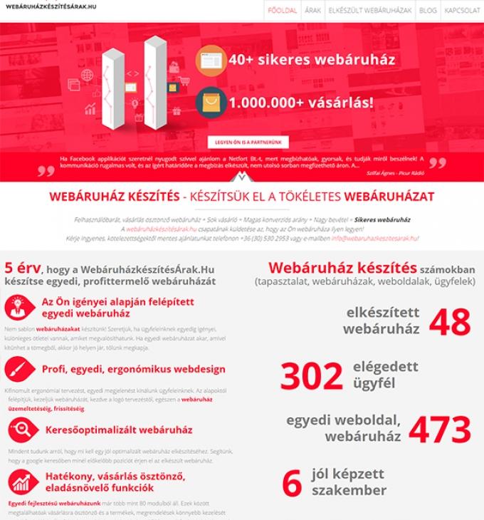 Webáruházkészítésárak.hu