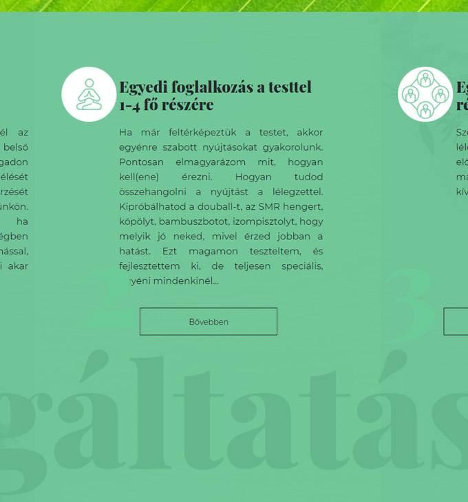 Testkapcsolatepites.hu - Test kapcsolat építés - reszponzív honlapkészítés