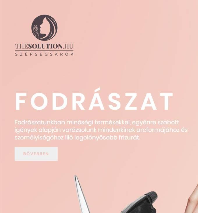 Thesolution.hu - Szépségsarok - Reszponzív honlapkészítés