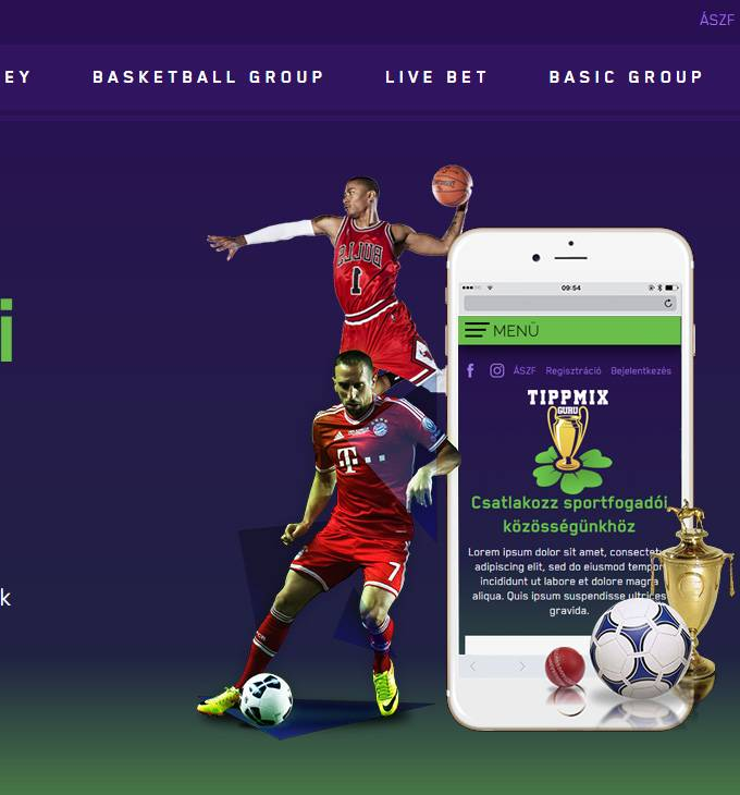 Tippmixguru.hu - Tippmix tippek, tanácsok sportfogadóknak - reszponzív honlapkészítés