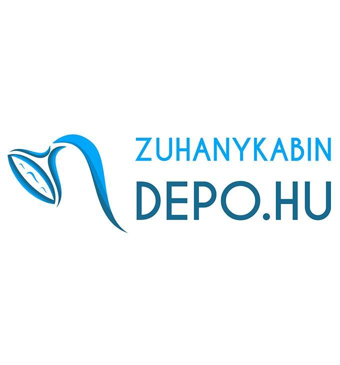 Zuhanykabindepo.hu logó készítés